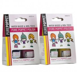 Pure Poppet Double Pack Water Based Nail Polish
