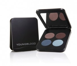 Youngblood Pressed Mineral Eyeshadow Quad Glamour Eyes